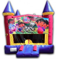 (C) Dora Castle Bounce House