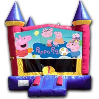 (C) Peppa Pig Castle Bounce House