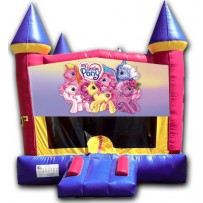 (C) My Little Pony Castle Bounce House