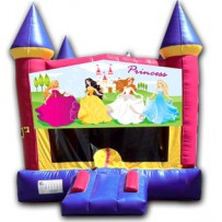 (C) Princess Castle Bounce House