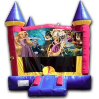 (C) Tangled Castle Bounce House