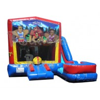 (C) Bear Jamboree 7N1 Bounce Slide combo (Wet or Dry)