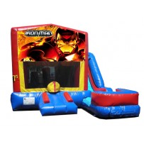 (C) Iron Man 7N1 Bounce Slide combo (Wet or Dry)