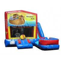 (C) Noah's Ark 7N1 Bounce Slide combo (Wet or Dry)
