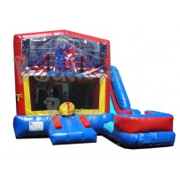 (C) Robo Gym 7N1 Bounce Slide combo (Wet or Dry)