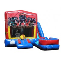 (C) Transporter Robots 7N1 Bounce Slide combo (Wet or Dry)