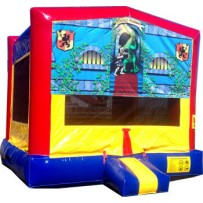 (C) Brave Knight Bounce House