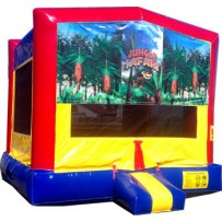 (C) Jungle Safari Bounce House