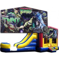 (C) Teenage Mutant Ninja Turtles Bounce Slide combo (Wet or Dry)