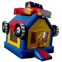 (A) Econo Monster Truck Bounce House