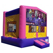 (C) Monster High Bounce House