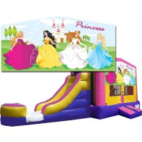 (C) Princess Bounce Slide combo (Wet or Dry)