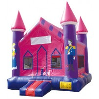 (A) Econo Princess Castle Bounce House
