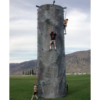 (D) 30ft Rock Wall