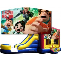 (C) Wreck It Ralph Bounce Slide combo (Wet or Dry)