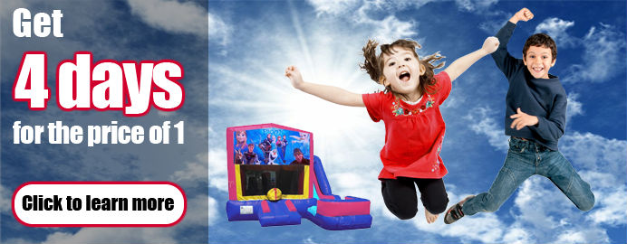 water slide bounce house packages