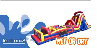 obstacle course rentals inflatable