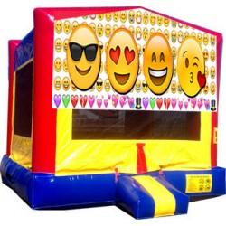 (C) Emoji Bounce House