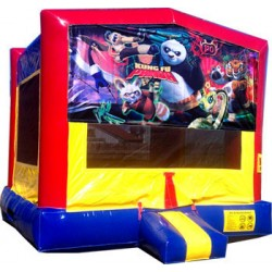 (C) Kung Fu Panda Bounce House