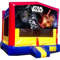 (C) Star Wars Bounce House