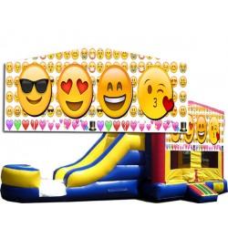 (C) Emoji 2 Lane combo (Wet or Dry)