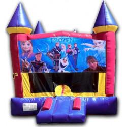 (C) Frozen Castle Bounce House