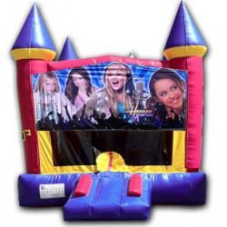 (C) Hannah Montana Castle Bounce House