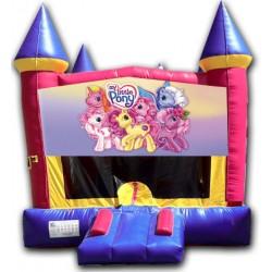 (C) My Little Pony Castle Bounce House