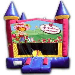 (C) Strawberry Shortcake Castle Bounce House