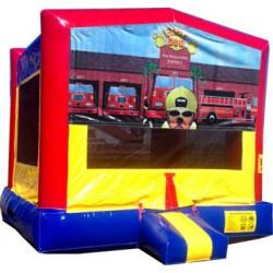 (C) Fire Dog Bounce House
