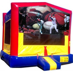 (C) Sports Banner Bounce House