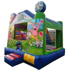 (C ) Sponge Bob Character Bounce House