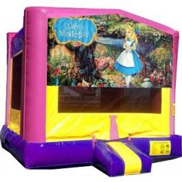 (C) Alice in Wonderland Bounce House