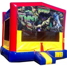 (C) Teenage Mutant Ninja Turtles (TMNT) Bounce House