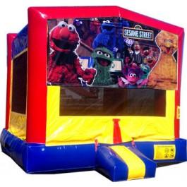 (C) Sesame Street Bounce House