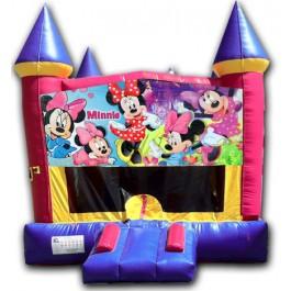 (C) Minnie Mouse Castle Bounce House