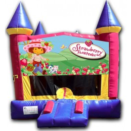 (C) Strawberry Shortcake Castle Bounce House