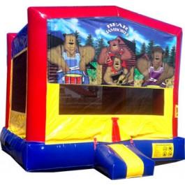 (C) Bear Jamboree Bounce House