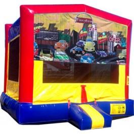 (C) Cartoon Bounce House