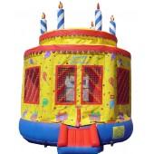 (B) Birthday Cake Bounce House