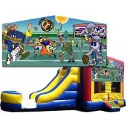 (C) Football Bounce Slide combo (Wet or Dry)