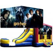 (C) Harry Potter Bounce Slide combo (Wet or Dry)