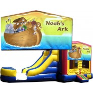 (C) Noah's Ark Bounce Slide combo (Wet or Dry)