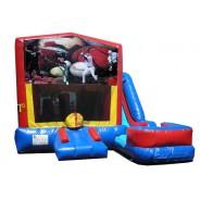 (C) Sports Banner 7n1 Bounce Slide combo (Wet or Dry)
