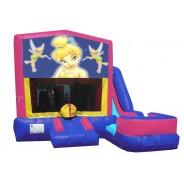 (C) Tinker Bell 7N1 Bounce Slide combo (Wet or Dry)