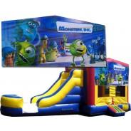 (C) Monsters Inc Bounce Slide combo (Wet or Dry)