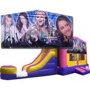 (C) Hannah Montana Bounce Slide combo (Wet or Dry)