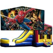 (C) Spider-Man Bounce Slide combo (Wet or Dry)