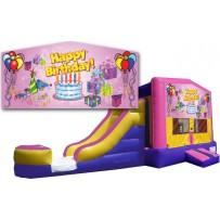 (C) Happy Birthday 2 Lane combo -Girl (Wet or Dry)