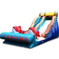 (B) 18ft Big Kahuna Wet-Dry Slide